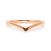 Wishbone Crown Ethical Gold Wedding Ring 5