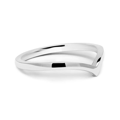 Wishbone Crown Ethical Gold Wedding Ring 6