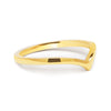Wishbone Crown Ethical Gold Wedding Ring 2