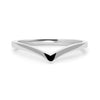 Wishbone Crown Ethical Platinum Ring