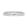 Vintage Milgrain Ethical Platinum Wedding Ring, 2mm