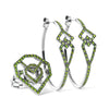 Bespoke Jewellery - Diopside Black Gold Earrings