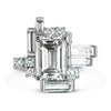 Bespoke Jewellery - Corene Diamond White Gold Ring - Arabel Lebrusan