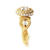 Bespoke Jewellery - Laura Engagement Gold Ring - Arabel Lebrusan 1