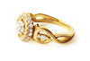 Bespoke Jewellery - Laura Engagement Gold Ring - Arabel Lebrusan 1 side