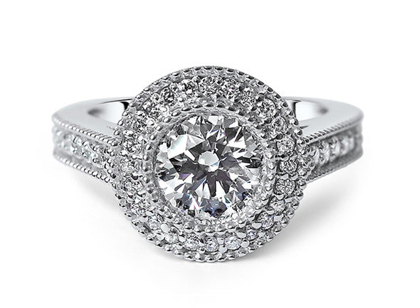 Bespoke Jewellery - Olivia Diamond Engagement Ring - Arabel Lebrusan