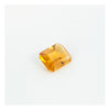 Yellow Citrine, Emerald Cut
