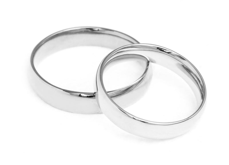 Court Ethical Platinum Wedding Ring, Medium