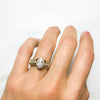 Lyra Ethical Diamond Engagement Ring, Platinum
