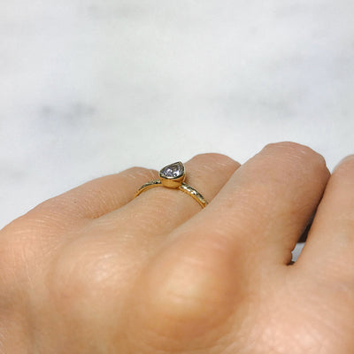 Candy Pop Ice Sapphire Engagement Ring, 18ct Ethical Gold 2