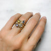 Candy Pop Mauve Spinel Engagement Ring, 18ct Ethical Gold 4