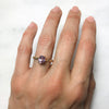 Fancy Athena Pink Sapphire Ethical Engagement Ring