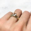 Fancy Athena Champagne Sapphire Ethical Engagement Ring
