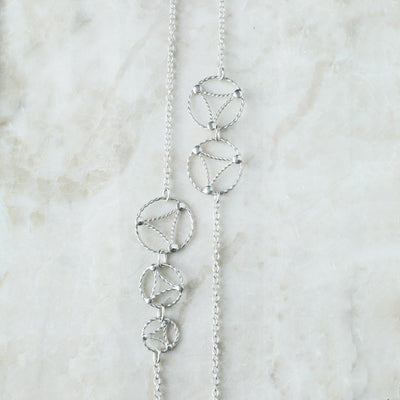 Long Lace Necklace