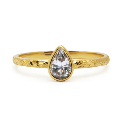 Candy Pop Ice Sapphire Ethical Engagement Ring