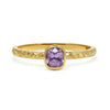 Candy Pop Mauve Spinel Engagement Ring, 18ct Ethical Recycled Gold