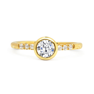 Large Hebe Ethical Diamond Engagement Ring