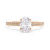 Cybele Ethical Diamond Engagement Ring, 18ct Fairtrade Gold