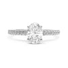 Cybele Ethical Diamond Engagement Ring, Platinum