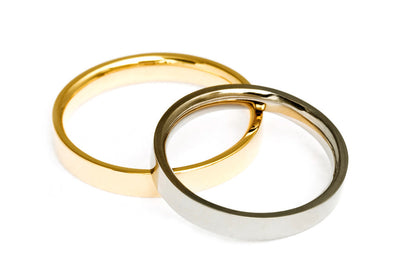 Flat Court Ethical Gold Wedding Ring, Medium 4