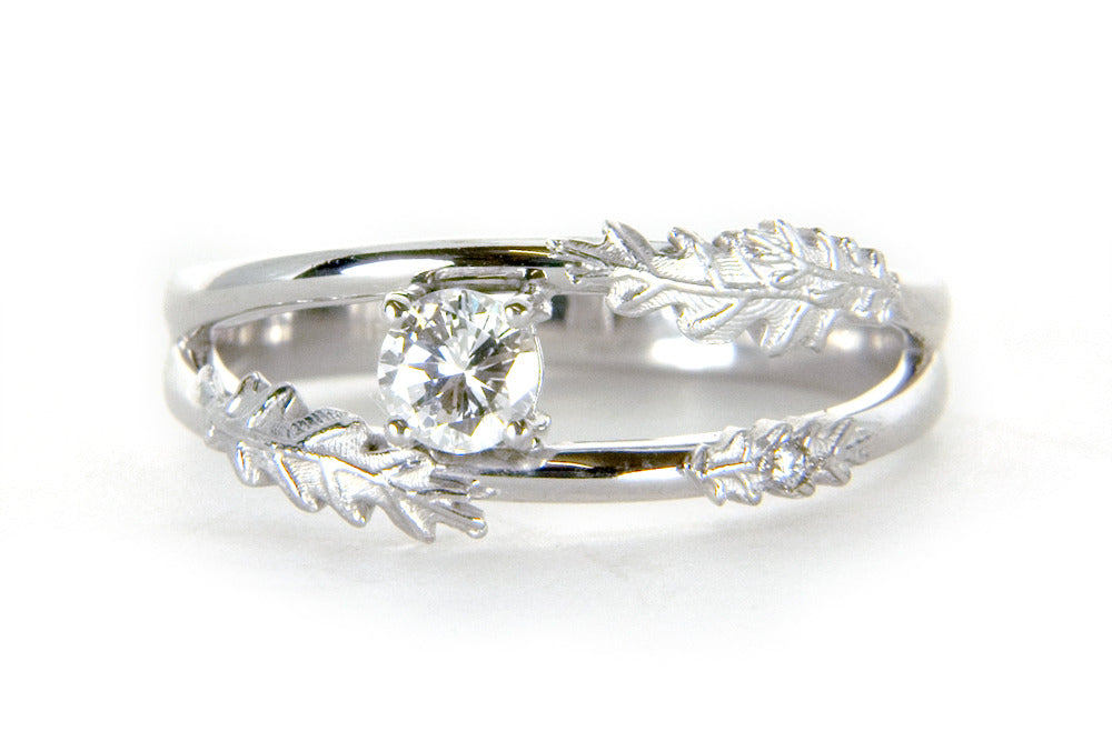 Dominike Engagement Ring - Arabel Lebrusan
