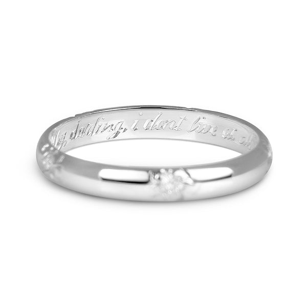 Add Your message. Short engraving