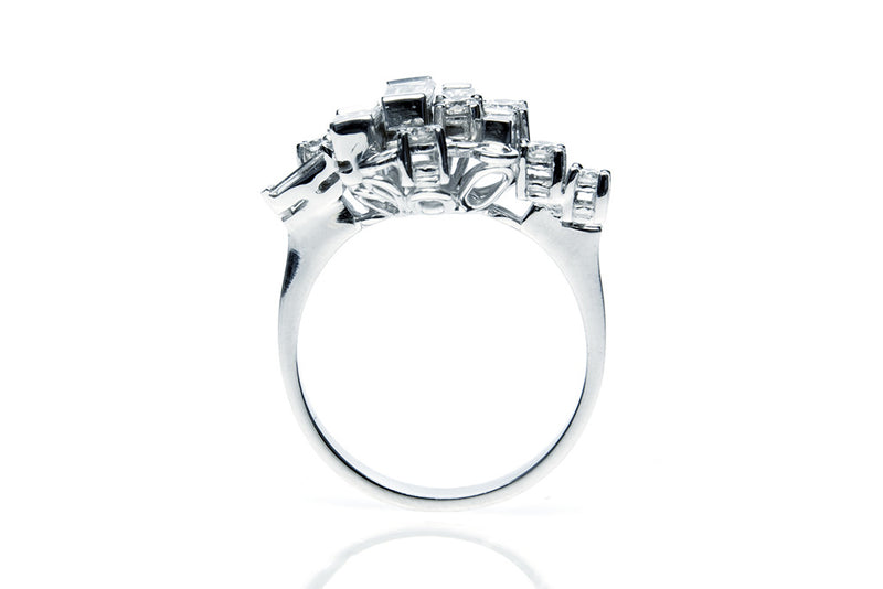 Diamond Manuela engagement ring - Arabel Lebrusan
