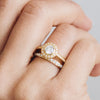 Efflorescence Ethical Diamond Platinum Engagement Ring - Arabel Lebrusan