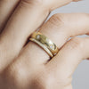 D Shape Diamond Star Ethical Gold Wedding Ring - Arabel Lebrusan