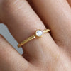 Hera Ethical Diamond Engagement Ring, 18ct Fairtrade Gold