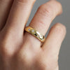 D-Shape Diamond Star Ethical Gold Wedding Ring 9