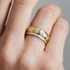 D-Shape Diamond Star Ethical Gold Wedding Ring 11