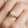 Efflorescence Ethical Diamond Engagement Ring, 18ct Fairtrade Gold