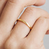 Harmony Flat Ethical Gold Wedding Ring 5
