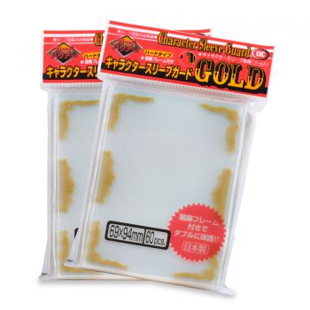 KMC Character Guard Gold Scroll 60ct