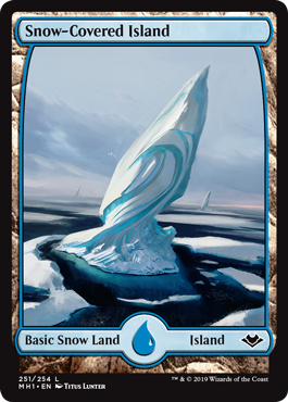 Snow-Covered Island (Full-Art)