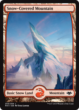Snow-Covered Mountain (Full-Art)