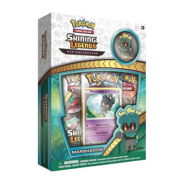 Pokémon Shining Legends Pin Collection - Marshadow