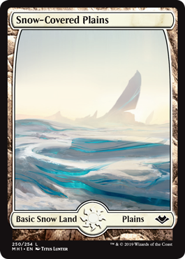 Snow-Covered Plains (Full-Art)