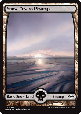 Snow-Covered Swamp (Full-Art)