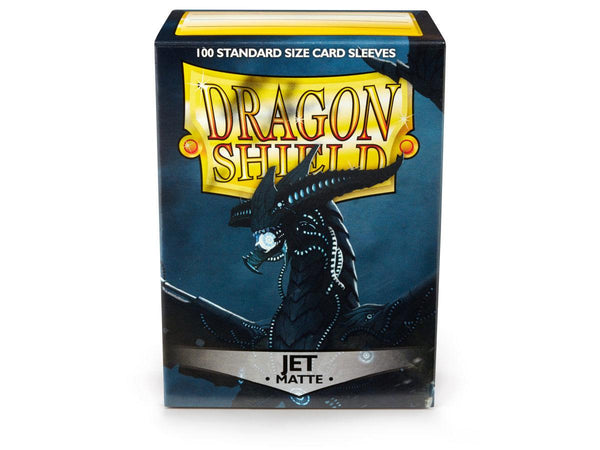 Dragon Shield Matte Sleeves 100ct Standard Size - Jet
