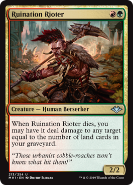 Ruination Rioter Foil
