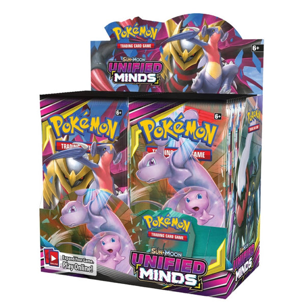 Pokemon SM11 Unified Minds English Booster Box