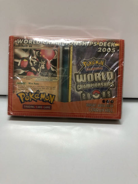 Pokémon 2005 World Championship Deck - Curran Hill's Bright Aura & MediCham Ex