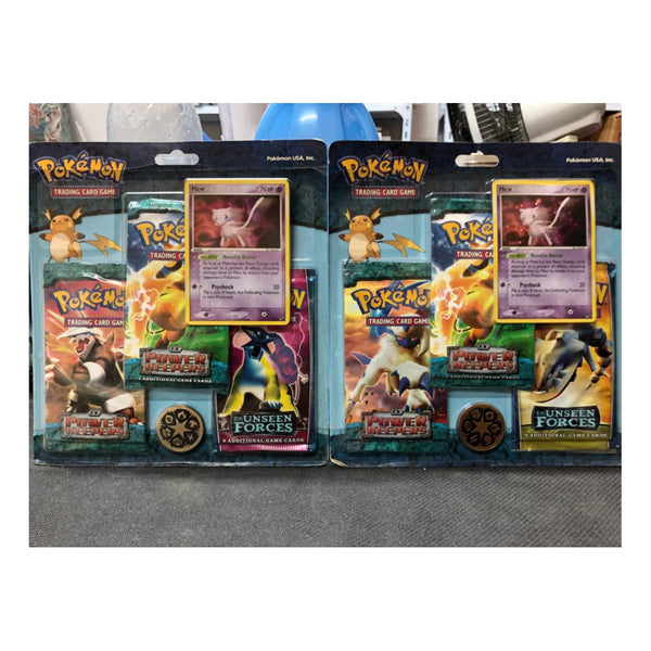 Pokémon EX Power Keepers + Unseen Forces + Mew Promo Blister