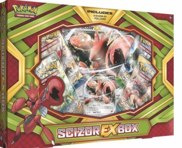 Pokémon Scizor Ex Box