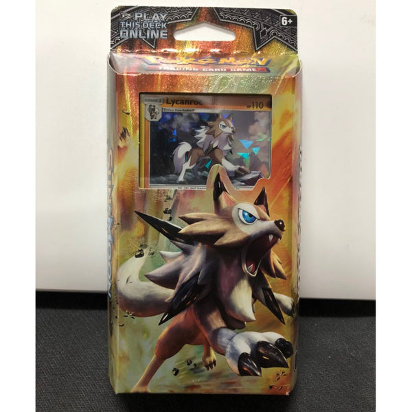 Pokémon Sun & Moon Burning Shadow Rock Steady Theme Deck