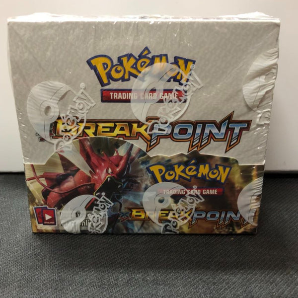 Pokémon X/Y Breakpoint Booster Box 36-Pack Booster Box Factory Sealed