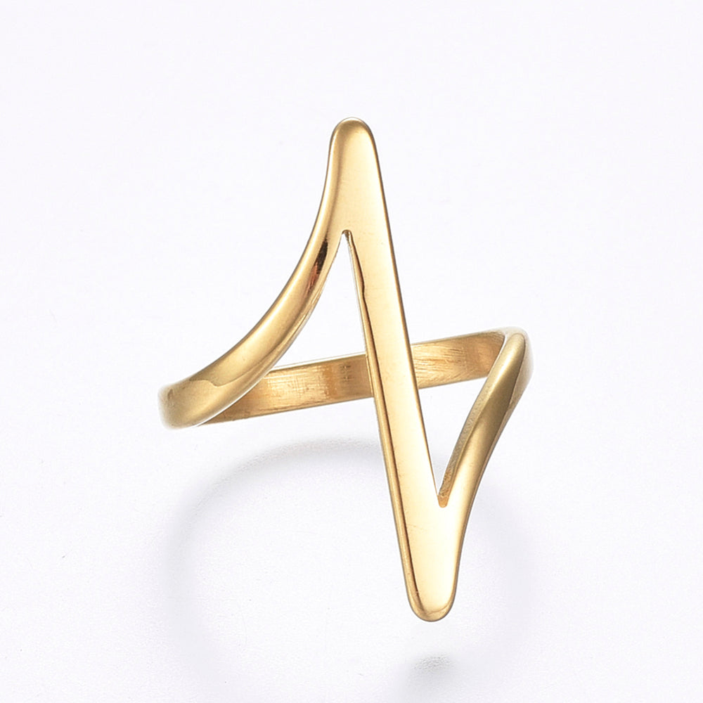 Entangled Gold Ring