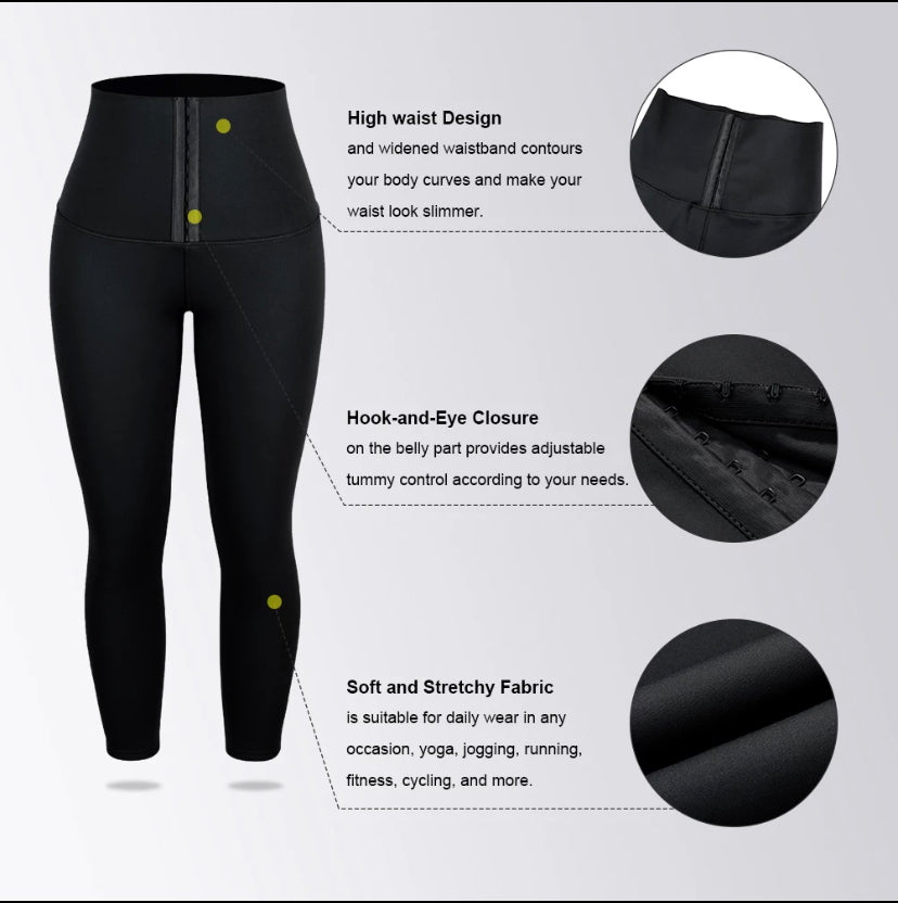 High Waist Trimmer Leggings